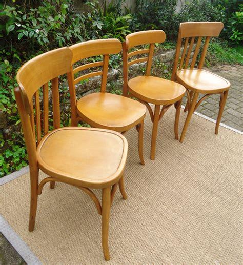 le bon coin chaises paire de chaises de bistrot baumann et mahieu