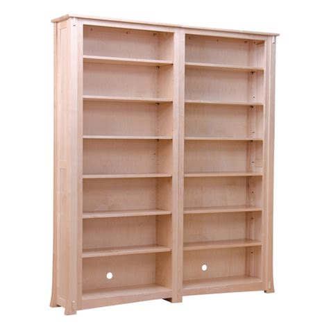 Solid Maple Bookcase by Exquisite Pair Of Maple Bookcase Barn Furniture