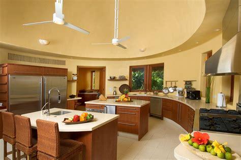 lavish villa kitchens  luxury vacation properties
