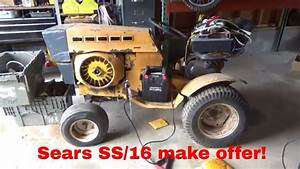 Sears Garden Tractor Onan Engine