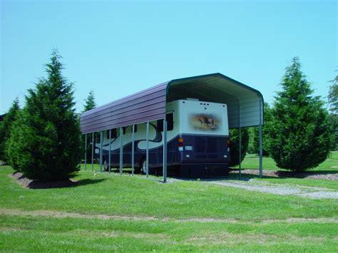 Steel Carports Oregon by Metal Rv Carports Oregon Or Motor Home Covers Oregon Or