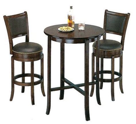 bar table and chair set marceladick