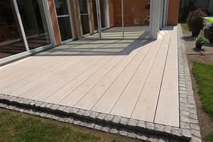 übergang Terrasse Garten : die besten 25 gepflasterte terrasse ideen auf pinterest ~ Markanthonyermac.com Haus und Dekorationen