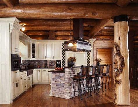 best 25 log cabin kitchens ideas on