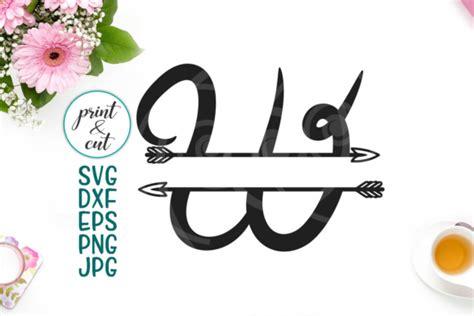 letter  split monogram font font  arrow individual letters split alphabet digital