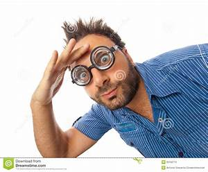 Wow Expression With Eye Glasses Stock Image - Image of ...