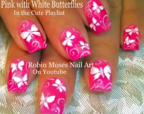 Moses nail art butterfly nails quot