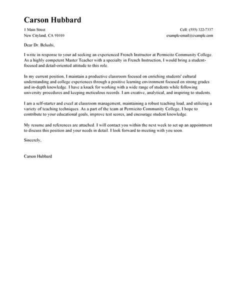 cover letter for director of education position