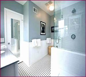 Paint color for grey tile bathroom tile designs for Painting shower tiles bathroom