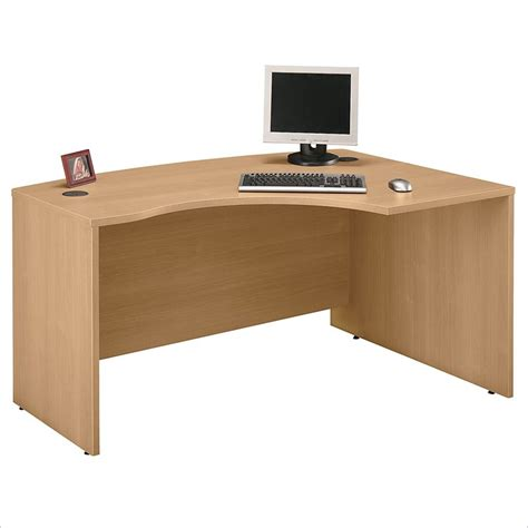 light oak computer desk bush furniture series c corner credenza light oak computer