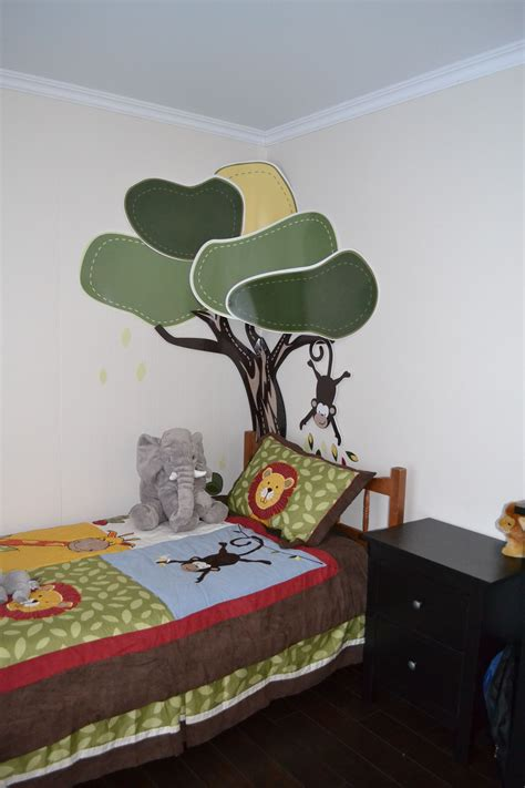 décoration stickers chambre d 39 enfant jungle décoration