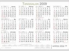 Free download Master Kalender 2009 cdr dan svg Sang