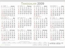 Free download Master Kalender 2009 cdr dan svg Sang