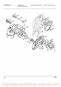 Stihl 009 Chainsaw Parts Diagram