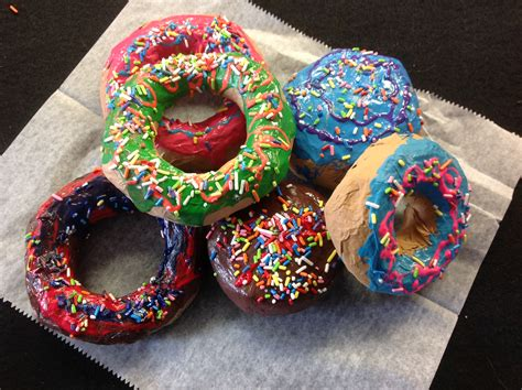 smartteacher resource paper mache donuts