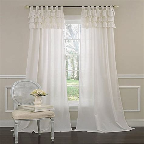 Laura Ashley® Dover Window Curtain Panel   Bed Bath & Beyond