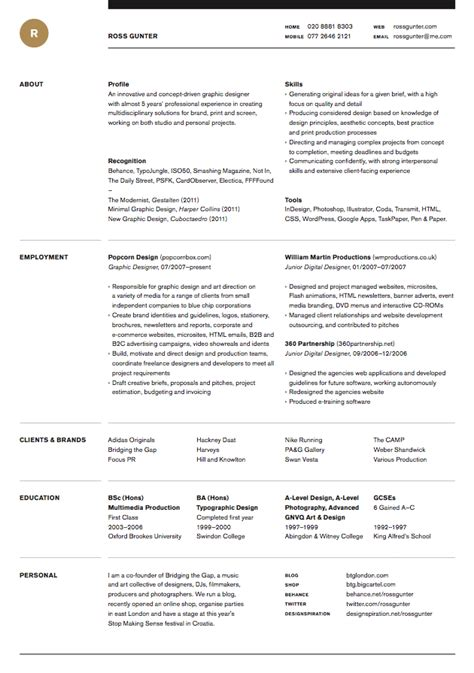 11592 well designed resumes a clean well designed resume resumes