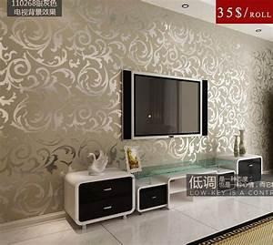 Free shipping high quality modern PVC wall paper/10M*53CM ...