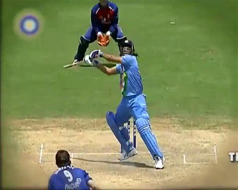 virteacon sachin invented  helicopter shot