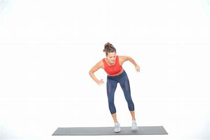 Shuffle Lateral Touch Side Exercise Leg Fitness