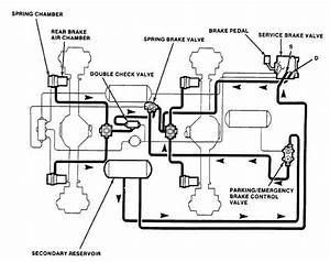Engine Air Brake Device For A 4 Stroke Reciprocating