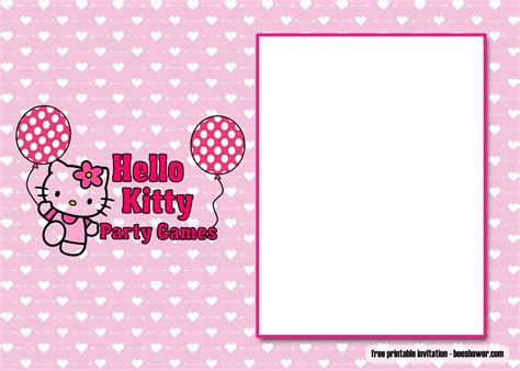 perfect  kitty baby shower invitations