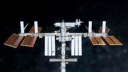 Iss Solar Space Station Panel Background Laboratory