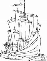 Coloring Pages Transportation Ships Boats Ship Printable Print sketch template