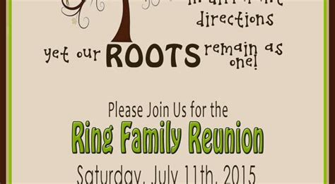family reunion invite swirly tree printable  littledunn