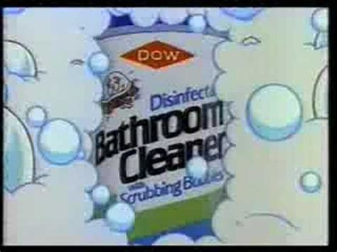 dow bathroom cleaner commercial  scrubbing bubbles