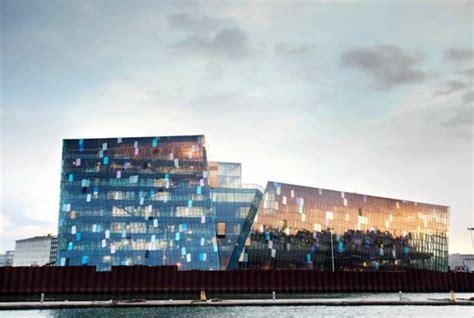 harpa reykjavik concert hall building iceland  architect