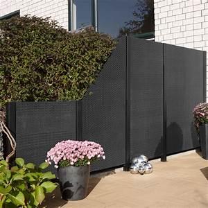 Sichtschutzzaun Aus Kunststoff : balkontrennwand kunststoff ~ Frokenaadalensverden.com Haus und Dekorationen