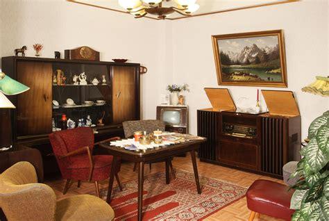 Wohnzimmer 50er Jahre by Presse Das Bremer Rundfunkmuseum Mit Den Ausstellungen