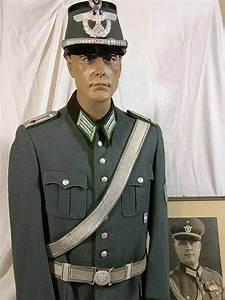 Schutzpolizei Named Oberleutnant Uniform Including Officer