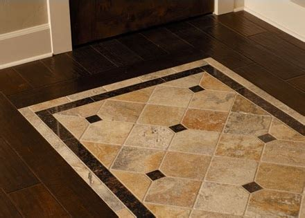 custom floor tile patern design home interiors