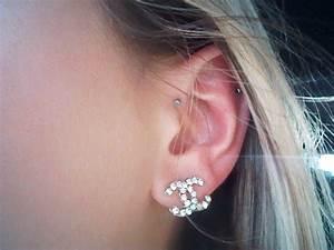 Dainty forward helix piercing | Jewelry | Pinterest ...