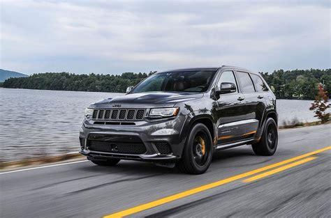 trackhawk jeep white jeep grand cherokee trackhawk 2018 review autocar