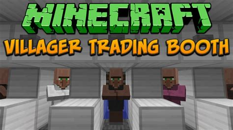 Minecraft Villager Trading Booth (tileable) Tutorial