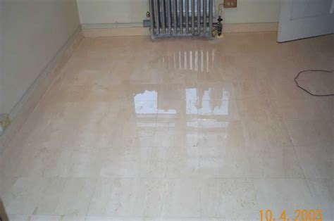 marble floors marble restoration service marble floor after image