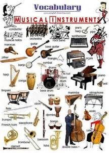 English Musical Instruments