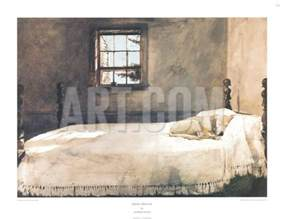 master bedroom print by andrew wyeth at com