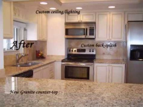 Cabinet Refacing Before & After Photos  Youtube