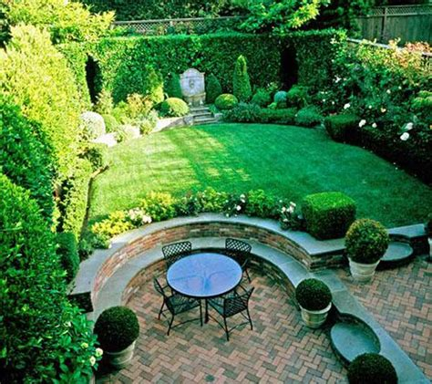 Backyard Gardens Ideas by 23 Simply Impressive Sunken Sitting Areas For A