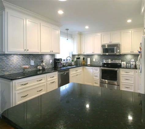 kitchen remodel white cabinets walker woodworking