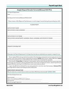 a sample request form for corrected reissued 2015 w 2s With dispute resolution policy template