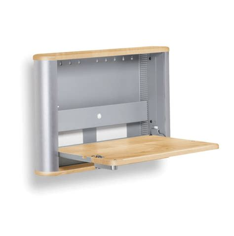 Computer Table For Small Spaces by Wall Mounted Folding Desk Ideas For Small Space Living