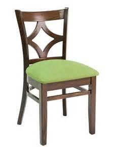 wood diamond back upholstered padded seat restaurant
