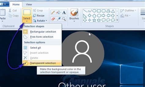 microsoft paint color transparent how to make ms paint turn white background transparent