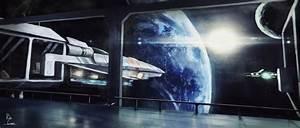 Space station by evildaffyduck2 on DeviantArt
