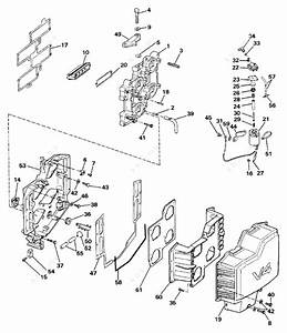 evinrude 1986 140 e140txcdc intake manifold parts catalog With diagram of 1986 e70elcdc evinrude intake manifold diagram and parts